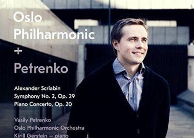 Scriabin: Symphony No. 2, Op. 29; Piano Concerto, Op. 20