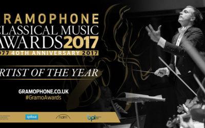 Vasily Wins Gramophone's Artist of The Year 2017