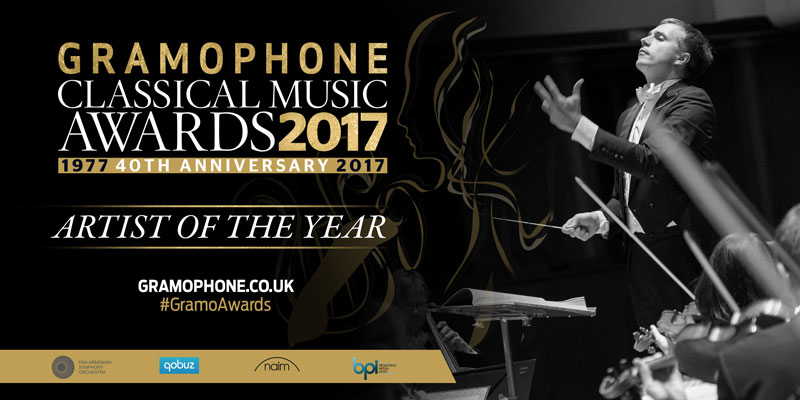 Vasily Wins Gramophone's Artist of The Year 2017