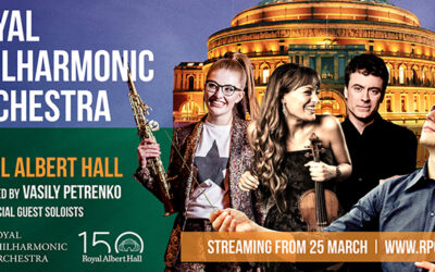 The Royal Philharmonic Orchestra returns to the Royal Albert Hall for online spring concert series
